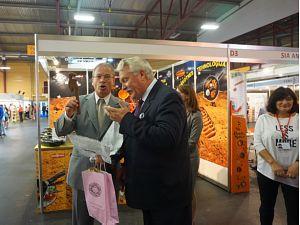 Юбилейная выставка Riga Food 2015. А. Америкс и Я. Дуклавс