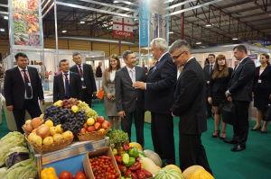 Юбилейная выставка Riga Food 2015. Национальный стенд Узбекистана