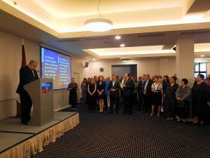 Выступление Посла России А. Лукьянова на приеме