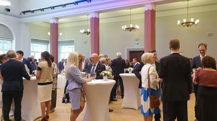 Прием Посольства России в Латвии