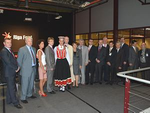 The Diplomatic Club has participated in the opening of Riga Food 2013