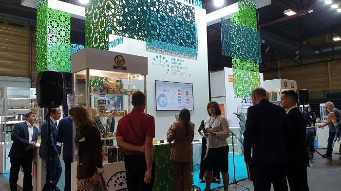 Riga Food 2019 opening of the stand of the Republic of Bashkortostan