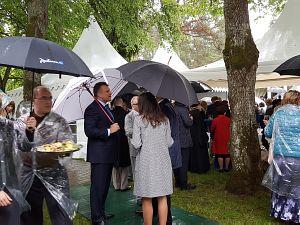 Прием Посольства России в Латвии в 2016 году