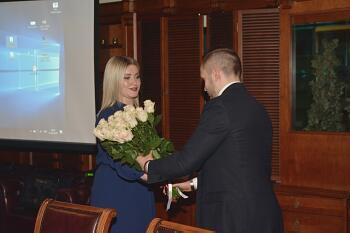 at a meeting at the Diplomatic Club in Riga 01.02.2018