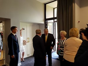 Прием Посольства России в Риге