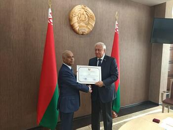 Dr. Saiful Hoque and Mikhail Myasnikovich