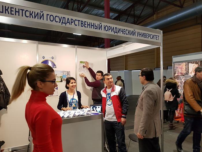 Exhibition Skola 2018. Tashkent State Law University from Uzbekistan