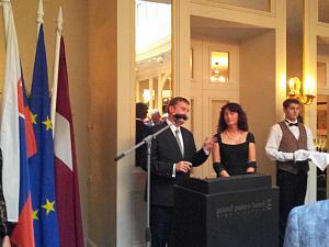 Прием Посольства Словакии в Риге