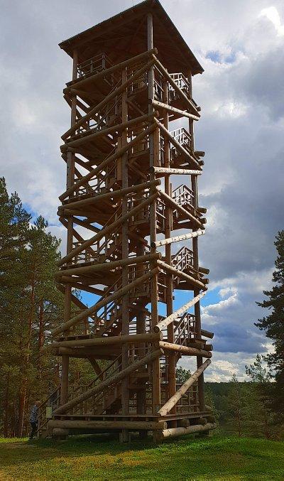 Край лесов и озёр. Смотровая башня