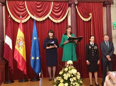 Прием Посольства Испании в Риге. Посол Сусанна Камара Ангуло