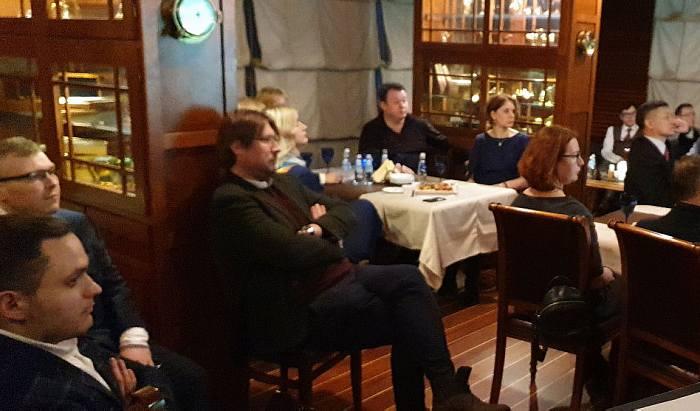 Посол Швейцарии К. Обленский в Дипломатическом экономическом клубе 5 марта 2020