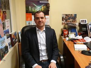 Президент Клуба Томас Кастрел в Риге