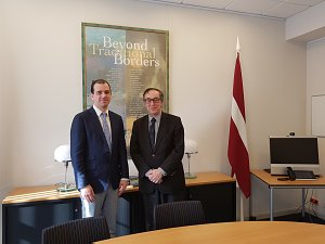 Meeting with the Ambassador of the Netherlands