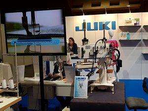 Baltic Fashion & Textile Riga 2017. JUKI