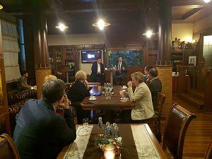 Агентство инвестиций и торговли Фландрии, Томас Кастрел в Дипломатическом экономическом клубе