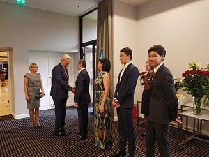 Прием  Посольства Узбекистана в Латвии. Посол Афзал Артыков