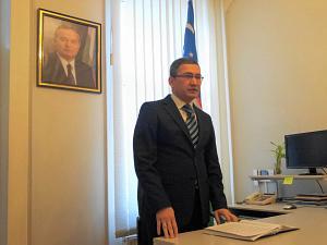 Посол Республики Узбекистан в Латвии Афзал Артиков