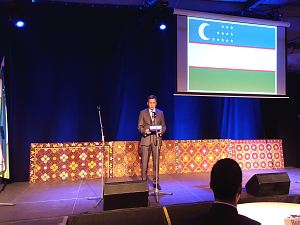 Reception in Riga, devoted to the Day Constitution of Uzbekistan