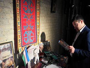 Прием вРиге, посвященный Дню Конституции Узбекистана. Андрей Козлов секретарь Посольства Украины вЛатвии