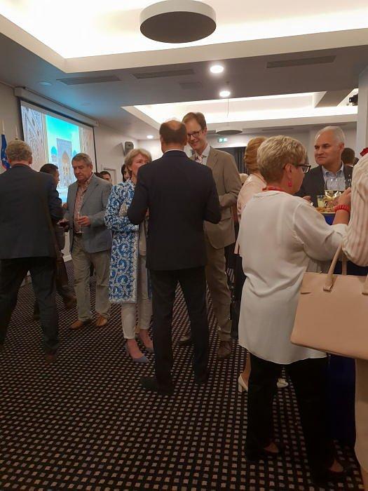 Прием Посольства Узбекистана 2018 в Риге