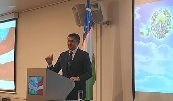 Reception of the Embassy of Uzbekistan