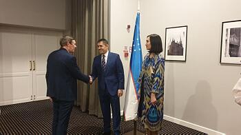 Посол Узбекистана в Латвии Кадамбай Султанов