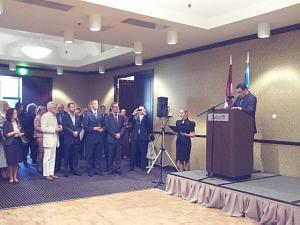 Ambassador of Uzbekistan Afzal Artikov