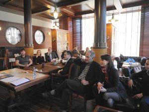 Встреча в Дипломатическом клубе 9 апреля 2015 - доктор Виталий Бутенко о новых подходах в переговорных процессах