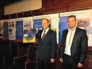 Посол России в Латвии Александр Вешняков  и Президент Клуба Давид Томашевски