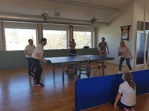 Tournament of the Diplomatic Club in table tennis