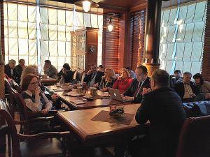 Янис Зелменис. Встреча в Дипломатическом экономическом клубе в Риге