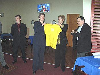 Dana Coleva - Посольство Словакии - почетный член Клуба