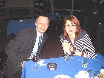 Олег Прохоров и Светлана Старостина