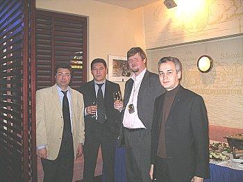 Открытие заседания Клуба