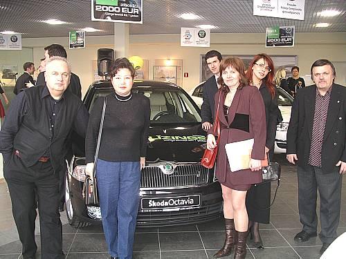 Открытие автосалона Шкода в Риге
