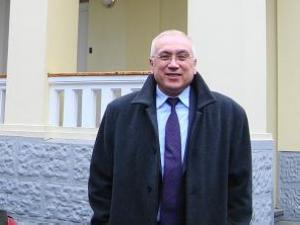 Чрезвычайный и Полномочный Посол Украины в Литве В. Жовтенко
