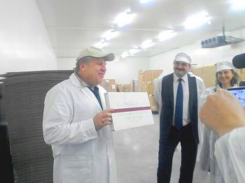 The Club members visited the factory Pure Chocolate