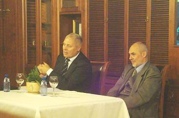 Juris Savickis and Janos Rekasi