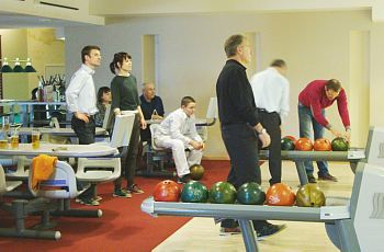 The Bowling tournament in the Club