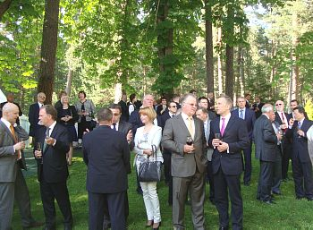 Russian Embassy Reception