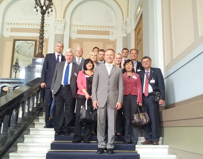 Meeting with President of the Bank of Latvia