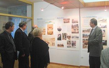 The presentation of the sanatorium Jantarnij bereg, Jurmala