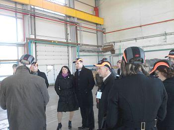 Члены Клуба посетили Инчукалнское газохранилище Латвияс газе