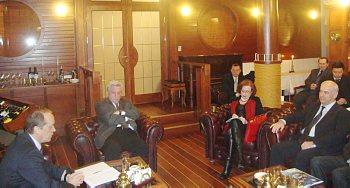 Посол России А. Вешняков в гостях в Клубе