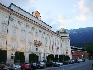 Инсбрук. Замок Хофбург Австрия