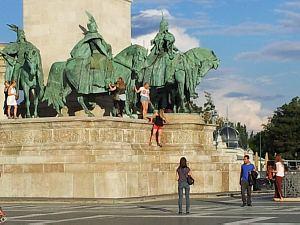 Будапешт. Площадь тысячелетия Венгрии