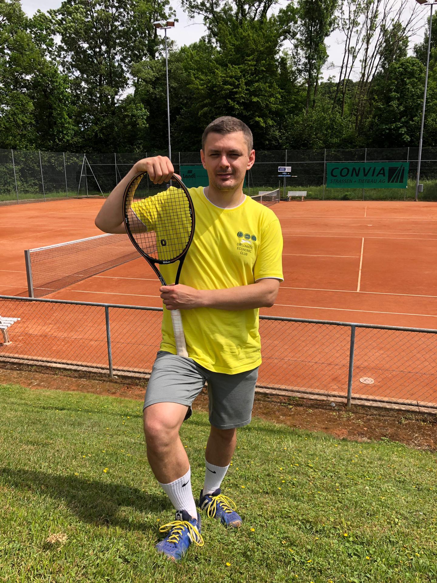 Vitaly Butenko, tennis championship in Zurich