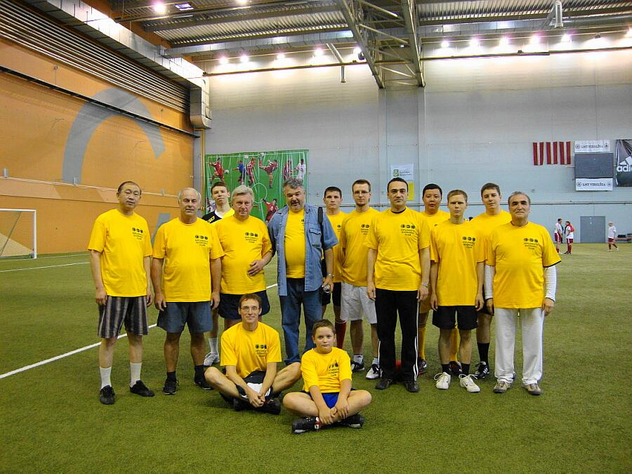 Football team - cooperation without borders