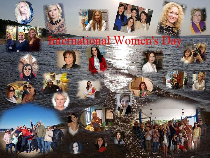 Международный женский день — 8марта