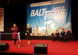 Открытие выставки Balttour 2017